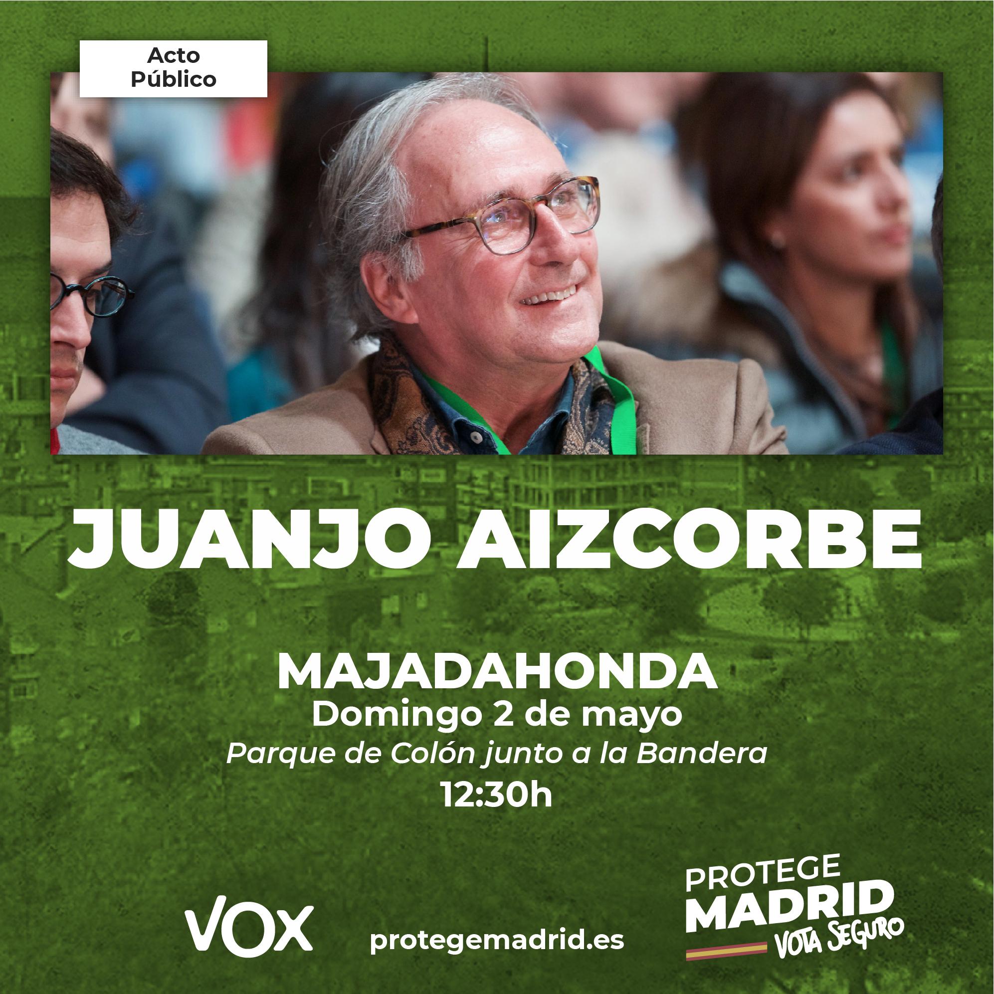 Juanjo Aizcorbe estará en Majadahonda